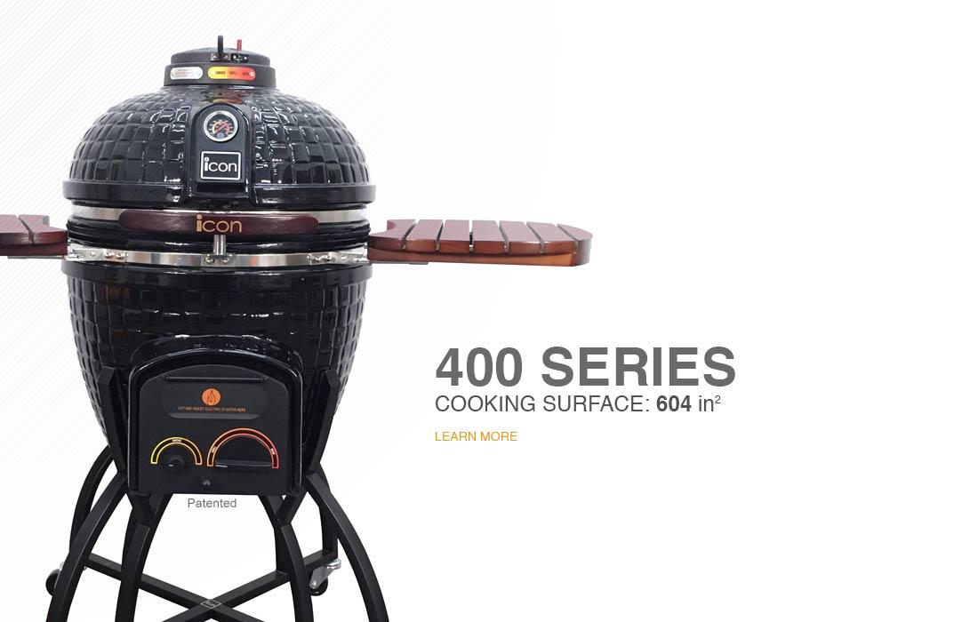 Kamado Grill, Charcoal Grills, Ceramic Smoker, Icon Grills